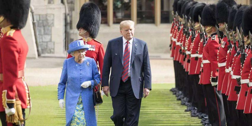 Queen Elizabeth - Donald Trump