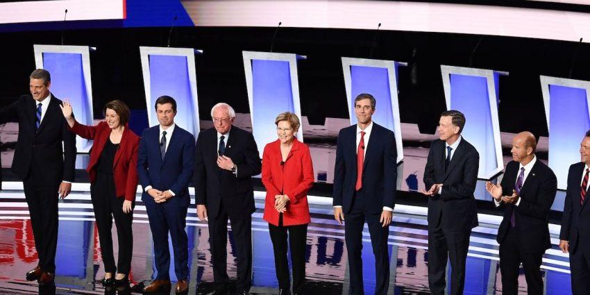 Night One Democratic Debate