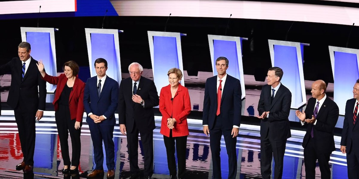 Night One Democratic Debate