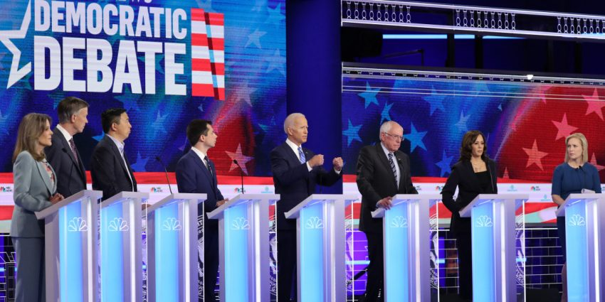Democratic Debate Stage