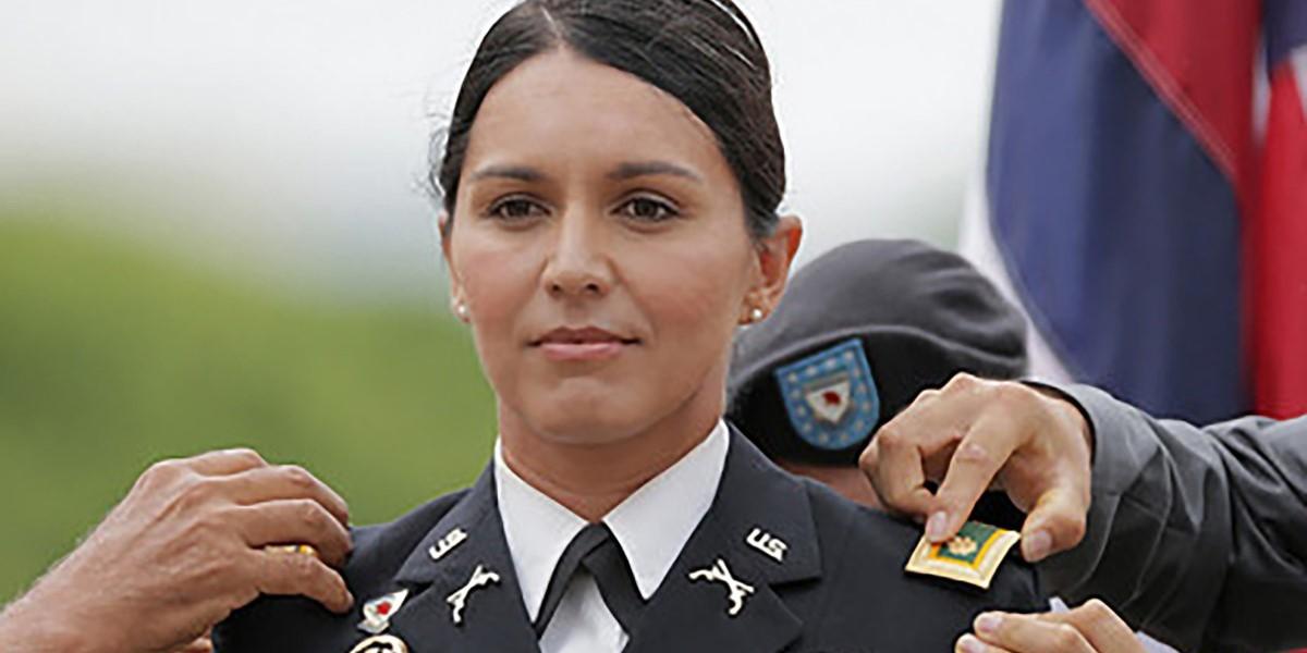 Military Tulsi Gabbard