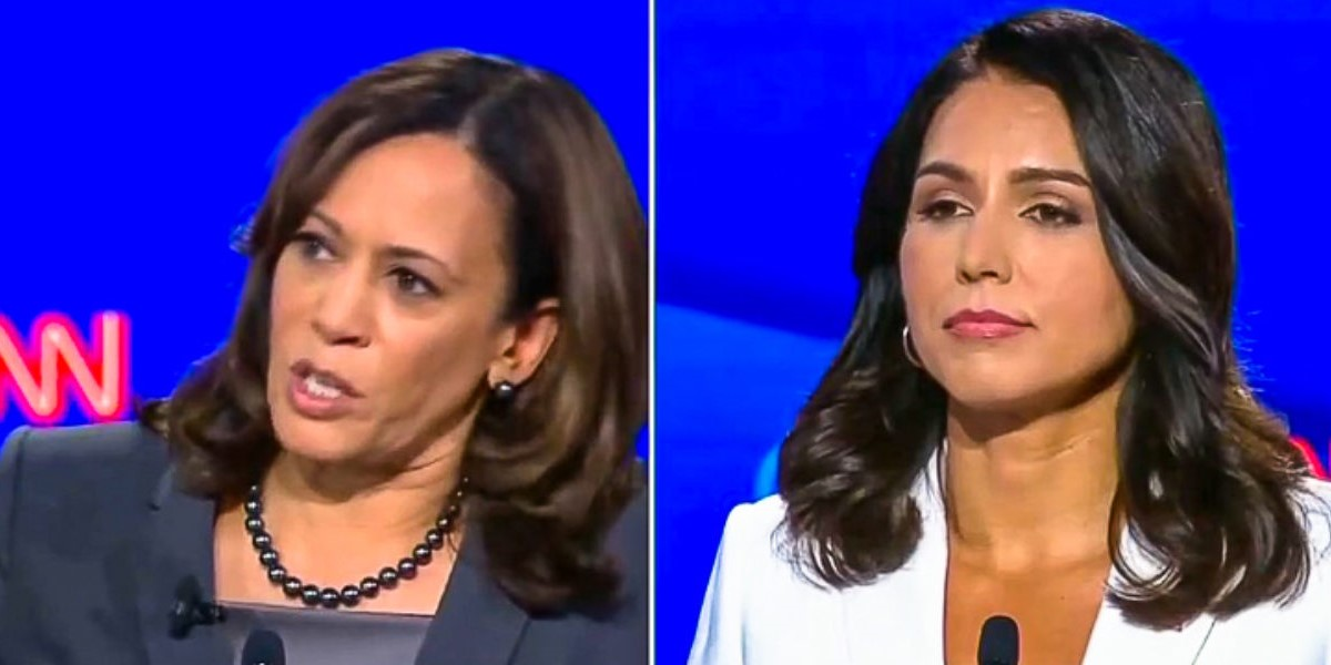 Tulsi-Gabbard-Kamala-Harris-Night-Two