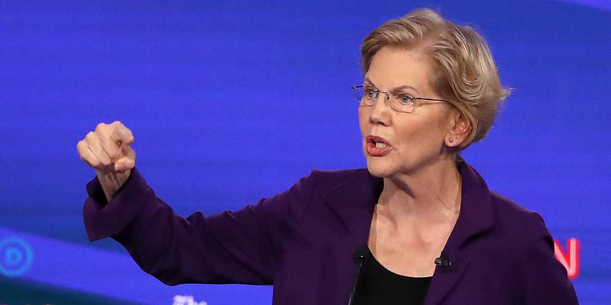 Elizabeth Warren Drops